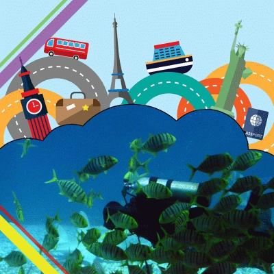 無國界領導人(01)- 跟潛水教練游世界水