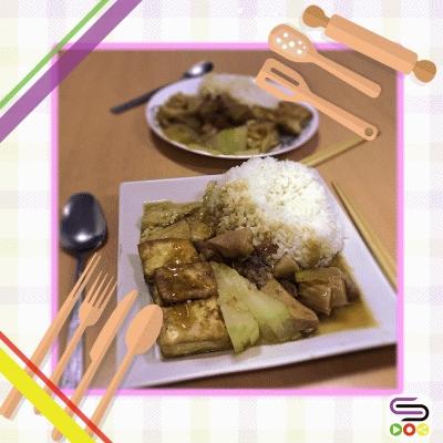 Soooman廚房(13)- 豆腐火腩飯
