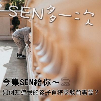 SEN多一次(01)- 今集SEN給你 ~ 如何知道我的孩子有特殊教育需要?