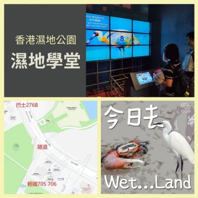 今日去wet...land(01)- 香港濕地公園 - 濕地學堂